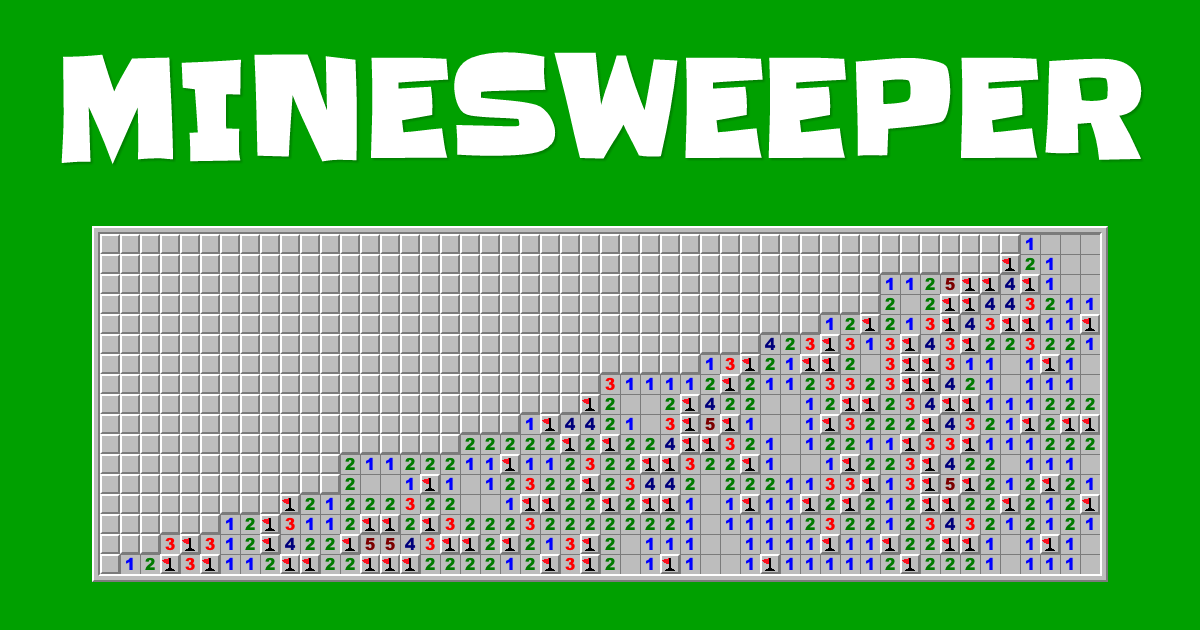 These are the Voyages of the Porkostomus: Minesweeper in Reagent